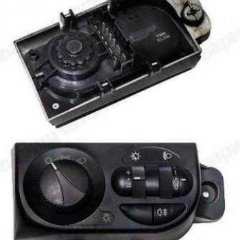 Модуль-переключатель светотехникой ВАЗ 2170 Приора Cartronic CTR0119130 (Ref.2170-3709820/ 21700370982000/521.3769)