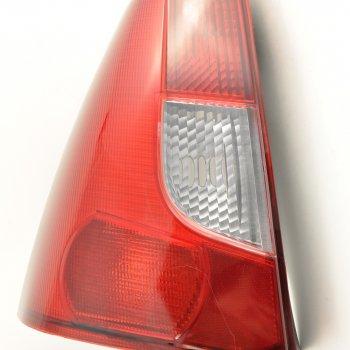Фонарь задний Renault Logan (2004->), левый, белый поворотн.Cartronic CTR0108710 (ref.6001546794)