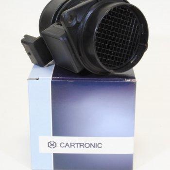 Датчик массового расхода воздуха 20.3855-10 5WK96351 HFM62C/19 Cartronic CTR0069340