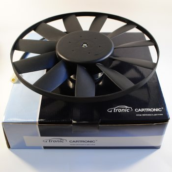 Вентилятор охлаждения Cartronic CTR0101472 (38.3730/38.3780/ 0130303243/ 0130304203 Ref)