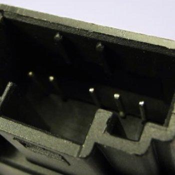 Моторедуктор заслонки отопителя Cartronic CTR0122100 Ref.5Q0907511A