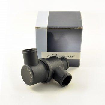 Термостат корпусной в сборе Cartronic CTR0115161 (80град/ Ref.2101-1306010/21010-1306010-00)