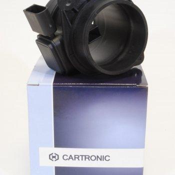 Датчик массового расхода воздуха Cartronic CTR0069396 (Ref.5WK97014 Ctr/2104-1130010 / SIMAF S62/9)