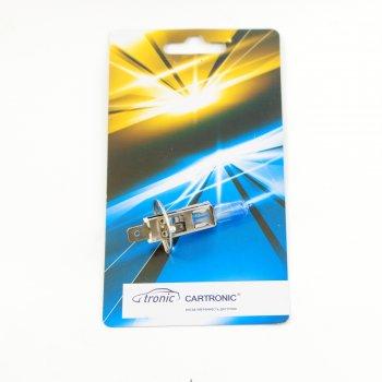 Лампа H1  12V/55W  +50% Cartronic  CTR0100440 (1987302011 Ref. Ctr)