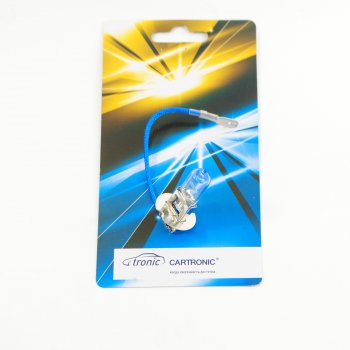 Лампа H3  12V/55W  +50% Cartronic CTR0100442 (1987302031 Ref. Ctr)