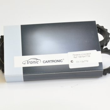 Ремень Cartronic 13x775, CTR0100534 (ref.1987947738)
