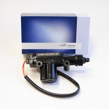 Моторедуктор блокировки замка двери Cartronic CTR0103464 (21093-6512210-03 Ref.Ctr)