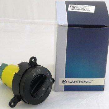 Модуль-переключатель светотехникой ГАЗ 3111/3302, МАЗ-256 Cartronic CTR0115620 (Ref. 3111.3709600/ 3111.3709600-08/ 2003.3769)