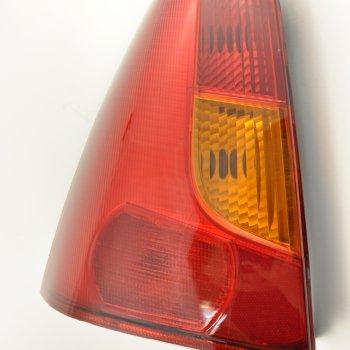 Фонарь задний Renault Logan (2004->), левый, желтый поворотн. Cartronic CTR0108725 (ref.6001546794)