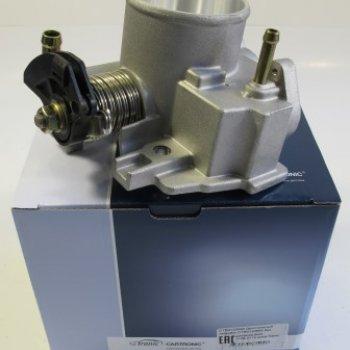 Дроссельный патрубок Cartronic CRTR0120692 без датчиков ВАЗ 2108-2115 диам 54мм