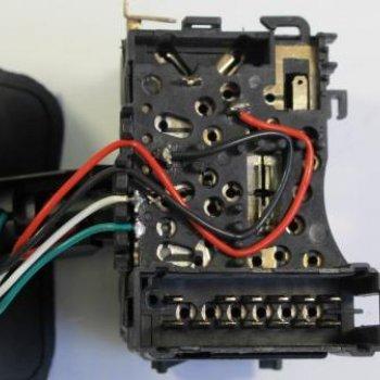 Переключатель подрулевой (света) Cartronic CRTR0120533 Ref.6001551360