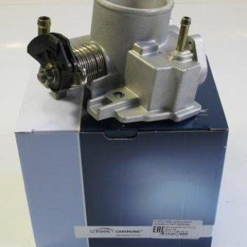 Дроссельный патрубок Cartronic CRTR0120690 без датчиков ВАЗ 2110-12, Диам 46, Ref.2112-1148010-12