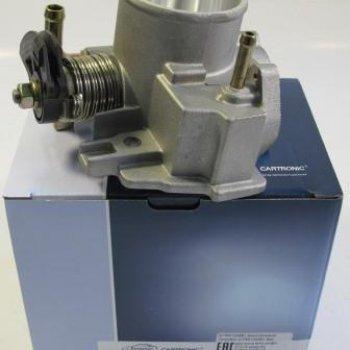 Дроссельный патрубок Cartronic CRTR0120691 без датчиков ВАЗ 2112 диам 52