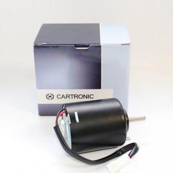 Электродвигатель вентилятора отопителя Cartronic CRTR0089708 12V. без крыльчатки Ref.197.3730 /HW411/ / JY411