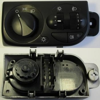 Модуль-переключатель светотехникой ВАЗ 2172 Cartronic CRTR0118774 Ref.58.3769/ 2172-3709820/ 21720370982000