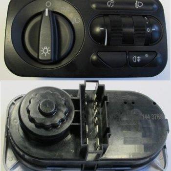 Модуль-переключатель светотехникой ГАЗ Cartronic CRTR0120158 Ref.144.3769/ A21R233769010