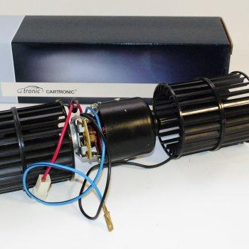 Вентилятор отопителя Cartronic CRTR0089704 (с 2-мя крыльчатками, 12V. Ref.68.3780 /HW420A)