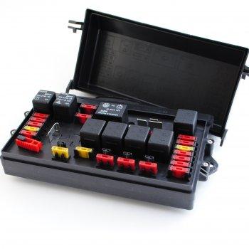 Блок реле и предохр. ВАЗ 2108-09 Cartronic CRTR0108818 старого образца С/О Ref.173.3722-М/KX12V254CB01/2108-3722020
