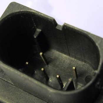 Моторедуктор заслонки отопителя Cartronic CRTR0122103 Ref.8D1820511B